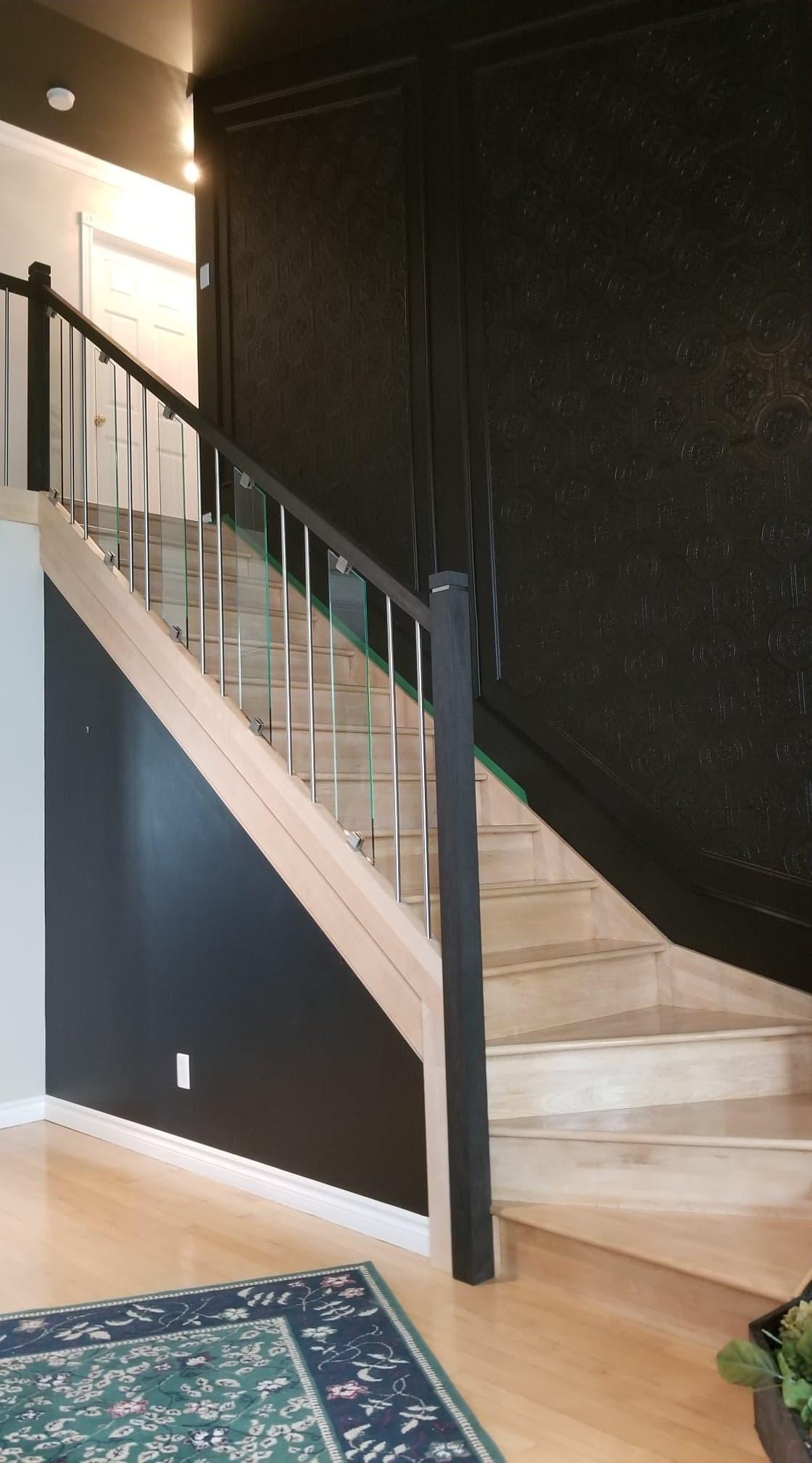 Escalier restauré