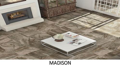 "MADISON  /  12"" x 24""  -- pied carré"