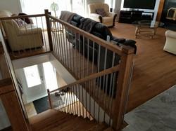 Plancher et escalier en chêne