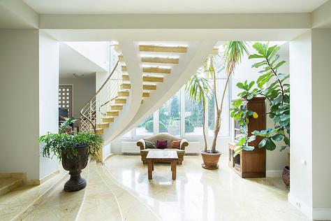 Structure d'un escalier