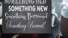 Let Love Brew- Wedding Details for the Coffee Lover