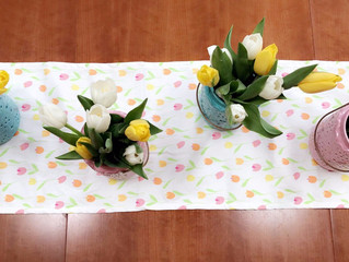 Easter Decor on A budget