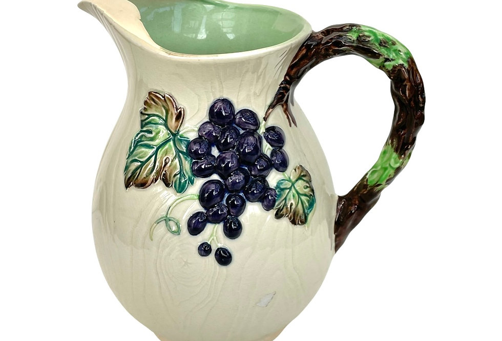 A beautiful vintage 'Carlton ware' jug that will be potted with succulents