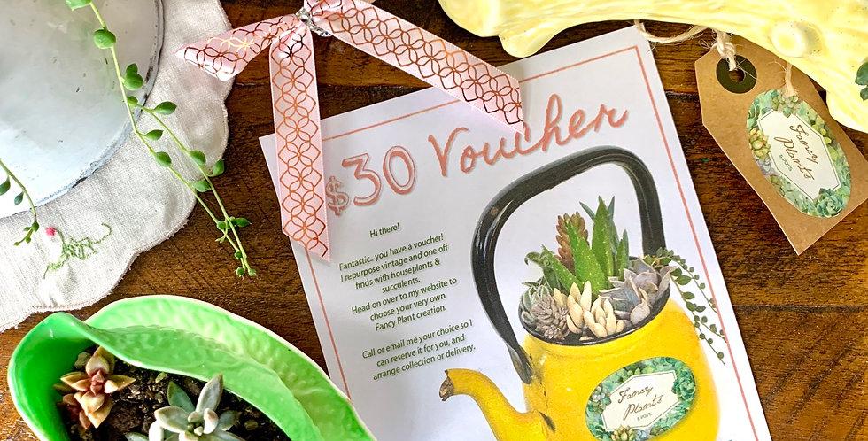 Fancy Plants Voucher