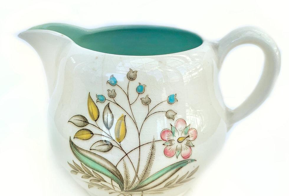 A pretty vintage 'Royal Stafforshire' ceramic jug with floral design