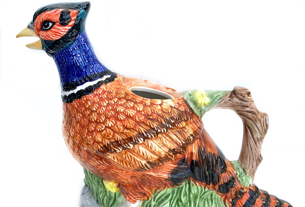 A funky Pheasant that will be potted with succulents