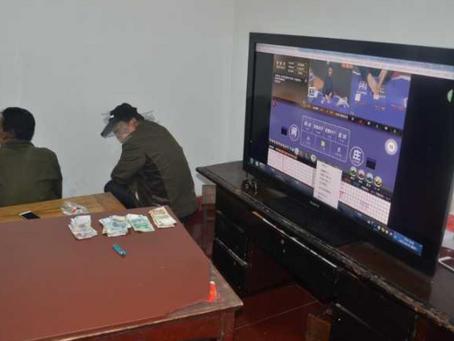 """1,800 만 베팅을 한 남자의 집은 """"바카라""""도박 갱단을 숨 깁니다."""