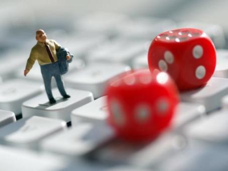 """이 """"게임""""을 할 때주의하십시오. 온라인 도박에 관여 할 수 있습니다."""