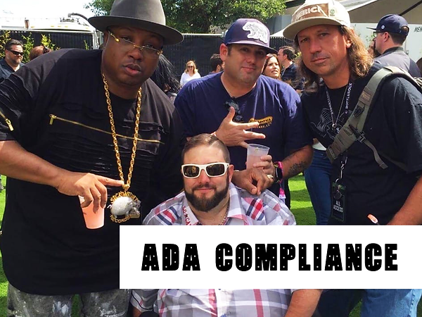 ADA Compliance Service Team with E40 of SICKWIDIT Records