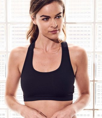 Just Cool 'Girlie' Sports Crop Top