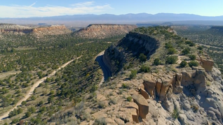 New Mexico From The Air