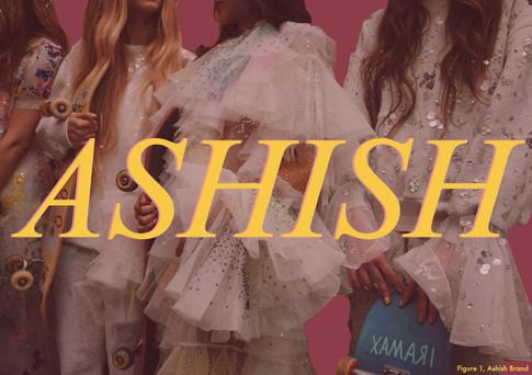 Brand Strategy : Ashish