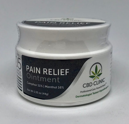 CBD Clinic Pain Relief Ointment - Level 5 (200 mg)