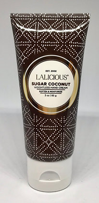 Lalicious Sugar Coconut Weightless Hand Cream