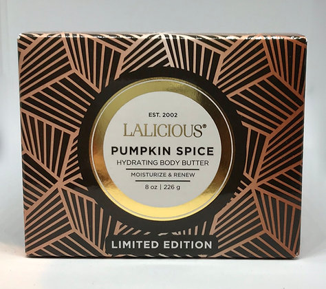 Lalicious Pumpkin Spice Hydrating Body Butter