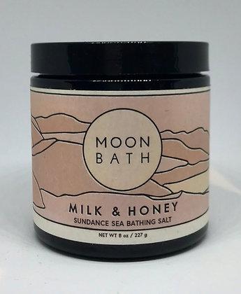 Moon Bath Milk & Honey Sundance and Sea Bathing Salt
