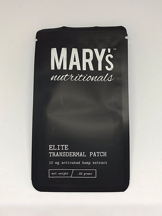 Mary's Nutritionals Elite CBD Transdermal Patch (10 mg)