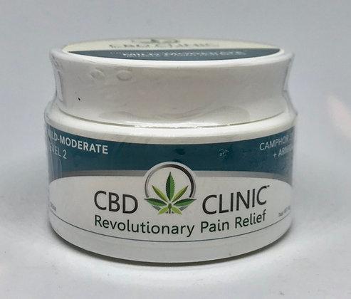 CBD Clinic Pain Relief Cream - Level 2 (50 mg)