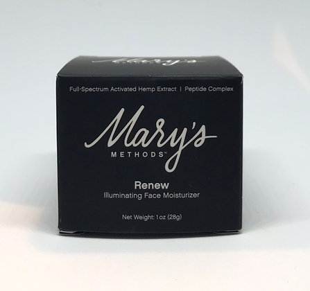 Mary's Methods Renew CBD Illuminating Face Moisturizer (100 mg)