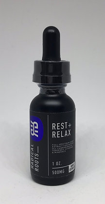 Radical Roots Rest + Relax Full Spectrum CBD Oil (500 mg)