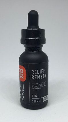 Radical Roots Relief Remedy Full Spectrum CBD Oil (500 mg)