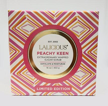 Lalicious Peachy Keen Extraordinary Whipped Sugar Scrub