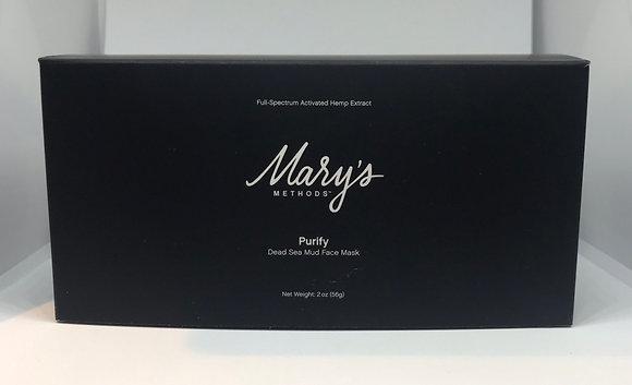 Mary's Methods Purify CBD Dead Sea Mud Face Mask (50 mg)