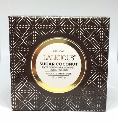 Lalicious Sugar Coconut Extraordinary Whipped Sugar Scrub