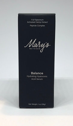 Mary's Methods Balance CBD Hydrating Hyaluronic Acid Serum (50 mg)