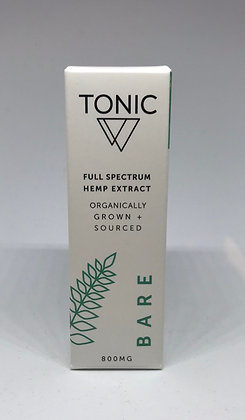 Tonic Bare Full Spectrum Hemp Extract (800 mg)