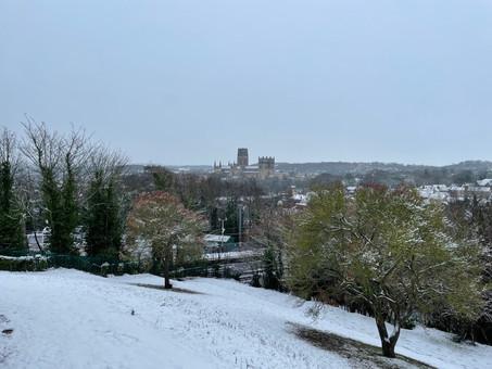England: Snowy Durham