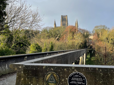 England: Kingsgate Footbridge, Durham
