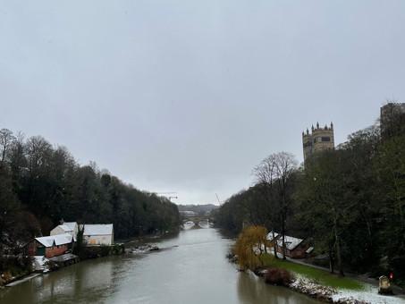 England: Snowy January