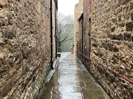 "England: Durham's ""Windy Gap"""