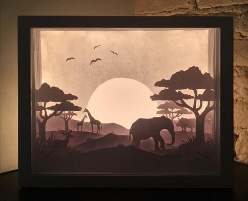 Light Box - Safari