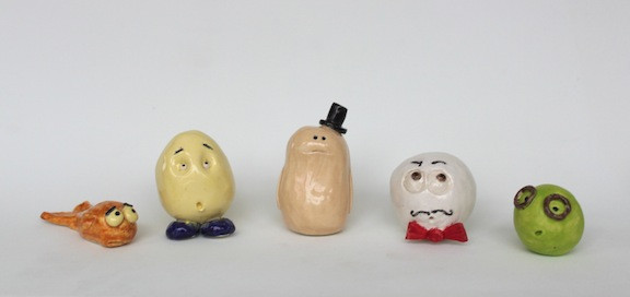 Ceramic characters
