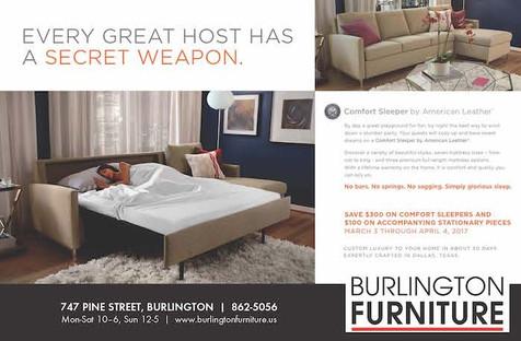half horizontal burlington furniture cop