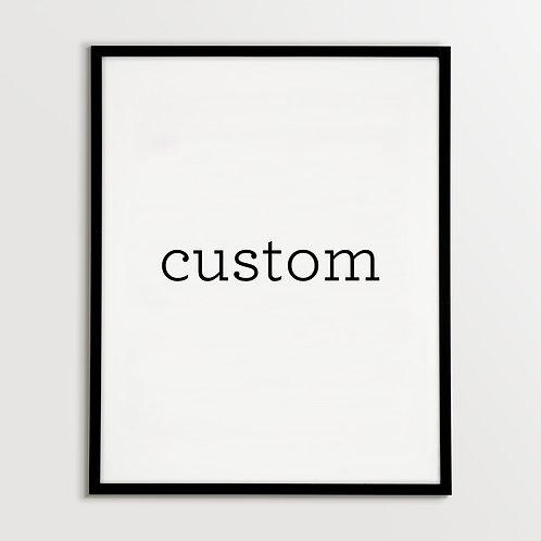 Original Custom Illustration