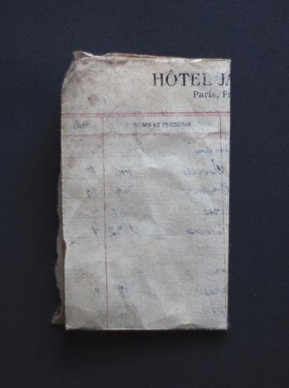 Hotel Register
