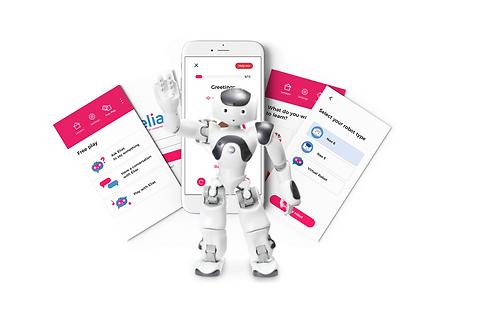 Elias Robot App - Kielten varhennuspaketti (5 kieltä), 1 vuosi + Nao6-robotti