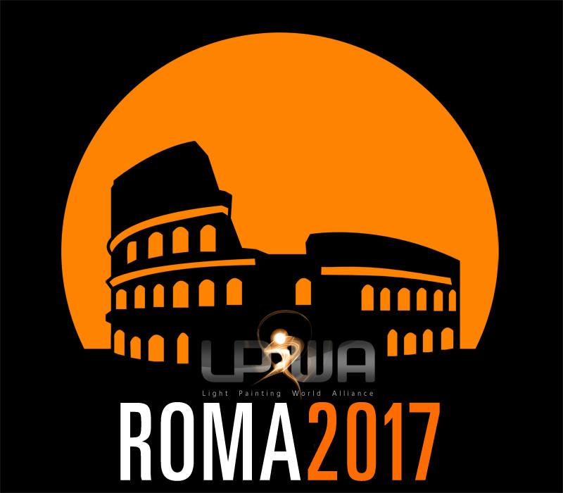 Light Painting World Alliance a Roma | Logo evento