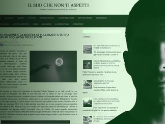 """""""IL SUD CHE NON TI ASPETTI"""" intervista di Mariaelena Grimaldi"""