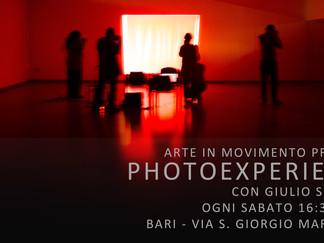 Photoexperience: sperimentare con la fotografia, esplorare con essa nuovi orizzonti.