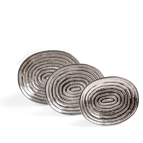 Oval Nesting Trays, Set of 3, #TC16268