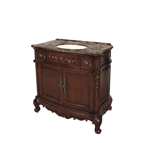 "Isabella Dark 36"" Bathroom Vanity"