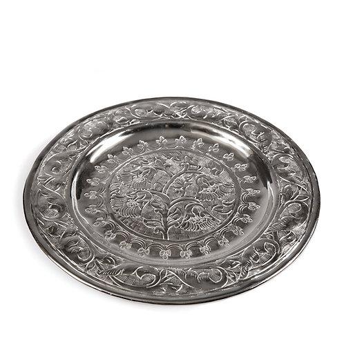 Round Embellished Tray, #TC16134