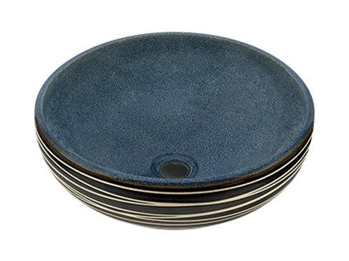 Hand-Thrown Ceramic Vessel
