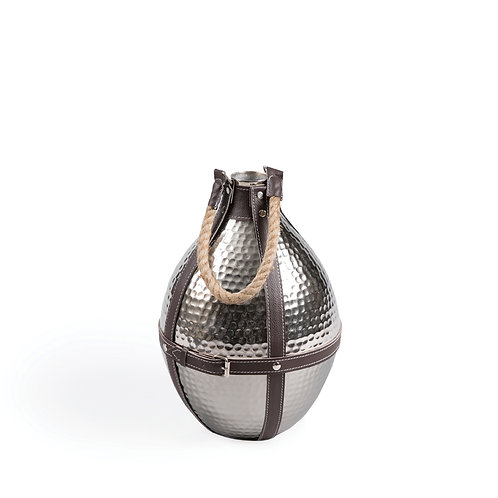 Round Hanging Vase with Rope, #TC15875-A