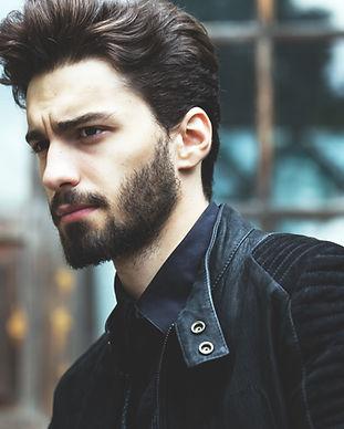 Moda Retrato de un hombre con barba