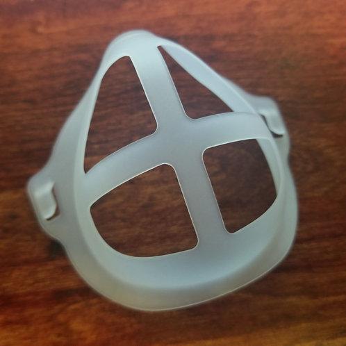 Face mask bracket white